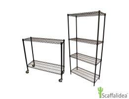 Scaffali Componibili Alluminio.Scaffali Linea Expo Scaffalidea Socepi