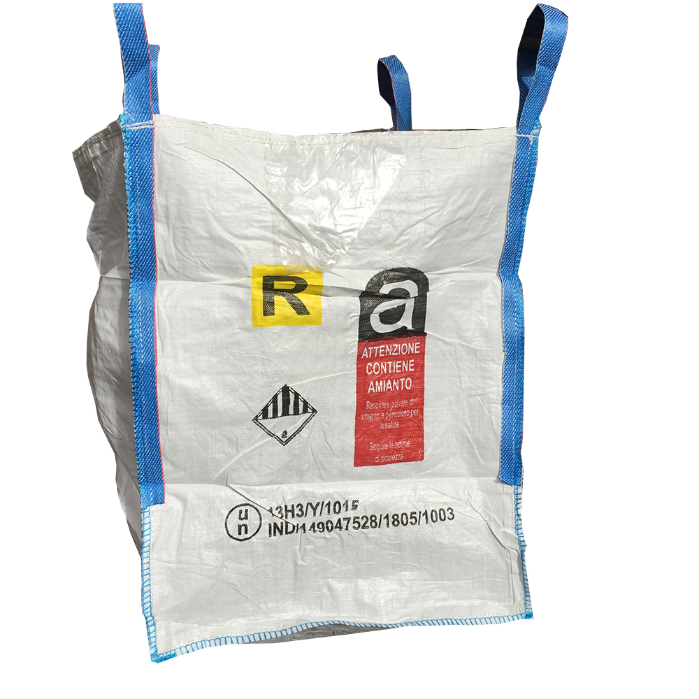 cdbad4daf9 Big bag in polipropilene flessibile omologati per il trasporto di MERCI  PERICOLOSE ADR R AMIANTO. Seguici sui social. bigbagR2 · bigbagR3 · bigbagR1