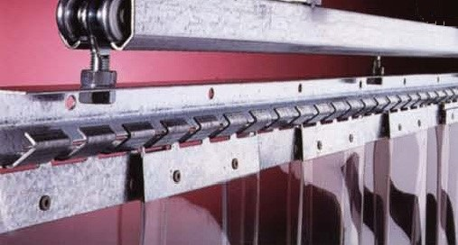 Tende a strisce flessibili PVC