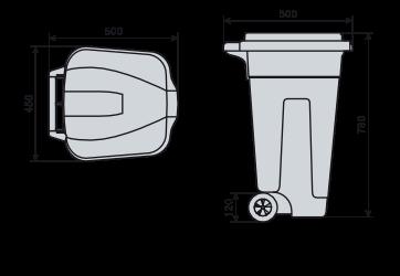 bidone con o senza pedale