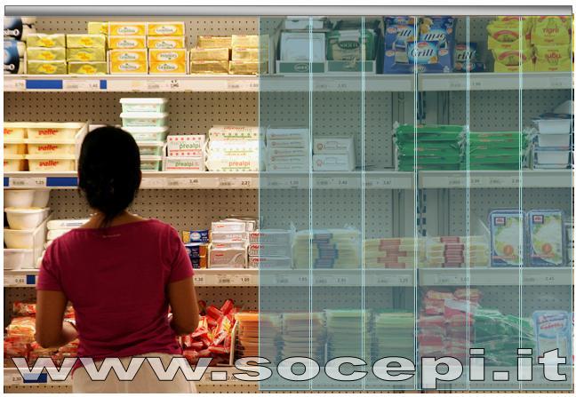 Tende a strisce per bachi frigo di vendita for Tende a strisce in pvc