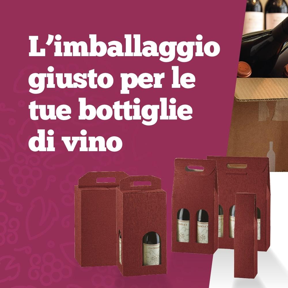 Imballaggio per bottiglie